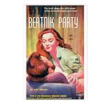 Postcards (pkg. 8) - 'Beatnik Party'