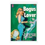 Postcards (pkg. 8) - 'Bogus Lover'