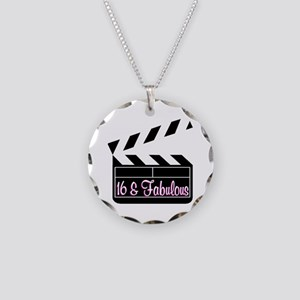 SUPER STAR 16TH Necklace Circle Charm