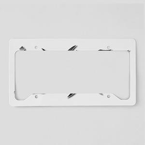 Jiu-Jitsu Ambigram License Plate Holder