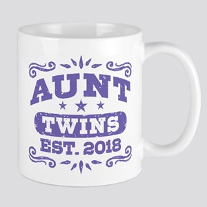 Aunt Twins Est.2018 11 oz Ceramic Mug