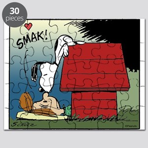 Snoopy Kiss Puzzle