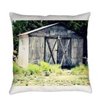 Old Shed Everyday Pillow