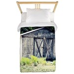 Old Shed Twin Duvet Cover