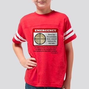 notice_const Youth Football Shirt