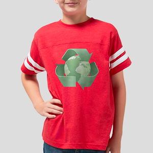 Recycling  - Mint Youth Football Shirt