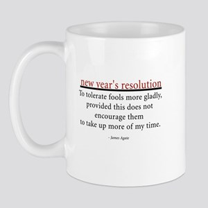 New Year's Resolution Mug