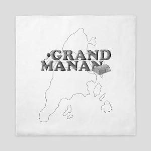 Grand Manan Queen Duvet