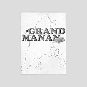 Grand Manan 5'x7'Area Rug