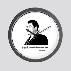 Turkmenbashy Wall Clock