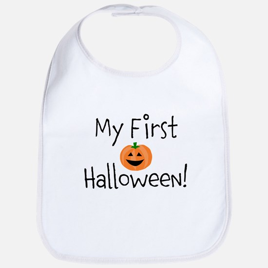 My First Halloween! Bib