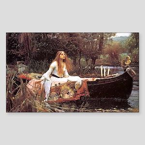 Lady of Shalott Sticker