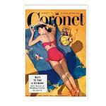 Postcards (pkg. 8)-'Coronet-August,1949'