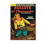 Postcards (pkg. 8)-'Bullets.. Clearwater