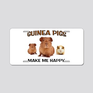 HAPPY PIGS Aluminum License Plate