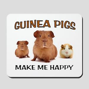 HAPPY PIGS Mousepad