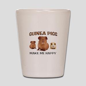 HAPPY PIGS Shot Glass