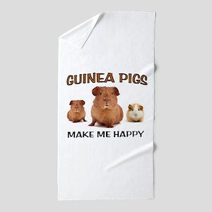 HAPPY PIGS Beach Towel