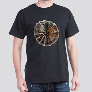 Money Origami Rosette Dark T-Shirt