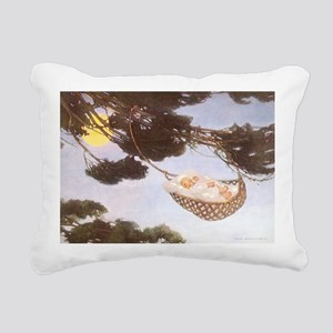 Vintage Lullaby Rectangular Canvas Pillow