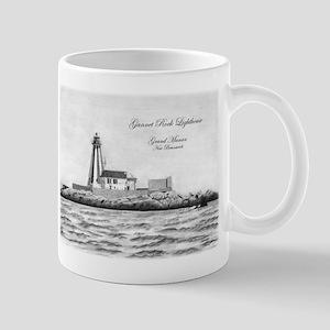 Gannet Rock Lighthouse Mugs