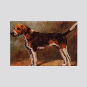English Foxhound Rectangle Magnet