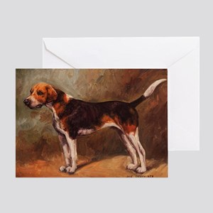 English Foxhound Greeting Card