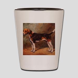 English Foxhound Shot Glass