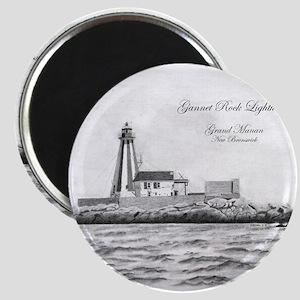 Gannet Rock Lighthouse Magnets