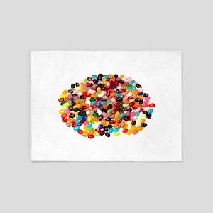 Jellybeans 5'x7'Area Rug