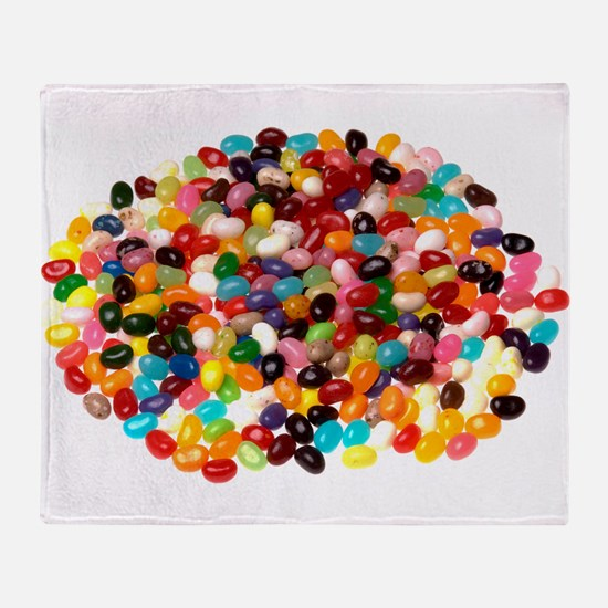 Jellybeans Throw Blanket