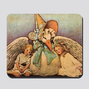 Vintage Mother Goose Mousepad
