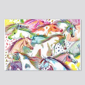Wild Horse Herd Postcards (Package of 8)