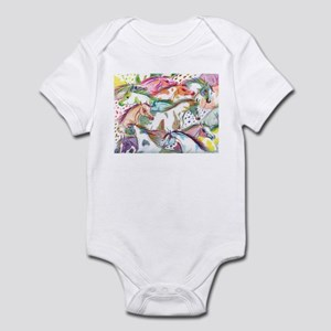 Wild Horse Herd Infant Bodysuit