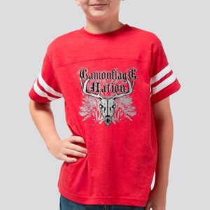 3-camouflagenationscript Youth Football Shirt
