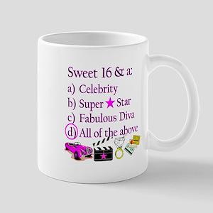 SWEET 16 DIVA Mug