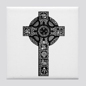 Celtic Cross 21 Tile Coaster
