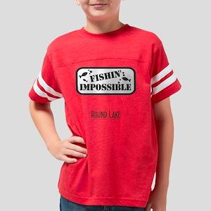 round fishin imposs Youth Football Shirt