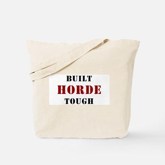 Built HORDE Tough Tote Bag