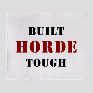 Built HORDE Tough Throw Blanket