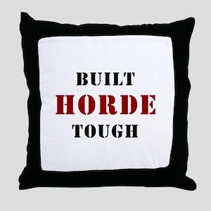 Built HORDE Tough Throw Pillow