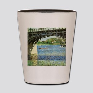 Caillebotte Bridge at Argenteuil and th Shot Glass