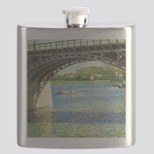 Caillebotte Bridge at Argenteuil and the Sei Flask