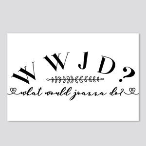 What would Joanna do? Postcards (Package of 8)