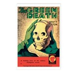 Postcards (pkg. 8) - 'The Green Death'