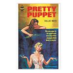 Postcards (pkg. 8) - 'Pretty Puppet'