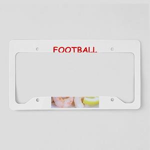 football License Plate Holder