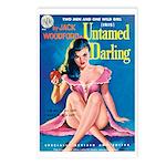 Postcards (pkg. 8) - 'Untamed Darling'