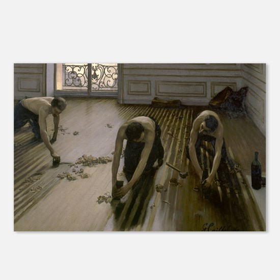 Caillebotte The Floor Scr Postcards (Package of 8)