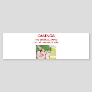 casino Bumper Sticker